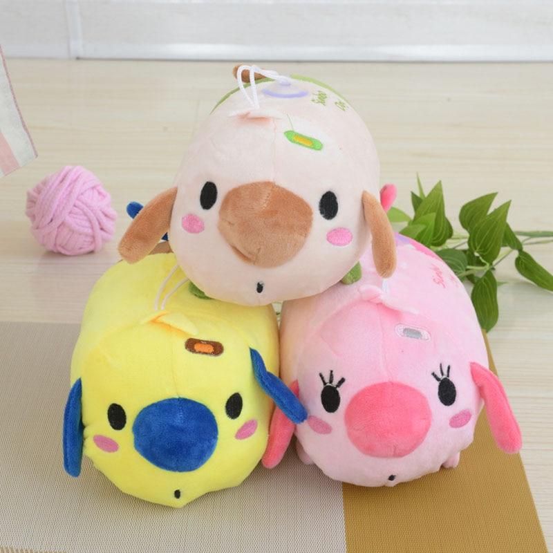 2017 New dolls&stuffed <font><b>toys</b></font> Pillow Cartoon Kawaii Pig <font><b>Lovely</b></font> <font><b>Animals</b></font> dolls Soft Cute <font><b>Toys</b></font> Kids Gift Plush <font><b>Tsum</b></font> <font><b>Tsum</b></font> MR105