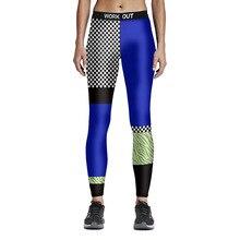Leggings 3D Printed Patchwork  Quick Dry Elasticity Slimming Colorful Legins Pant Legging for Woman  Pencil Pant M-4XL