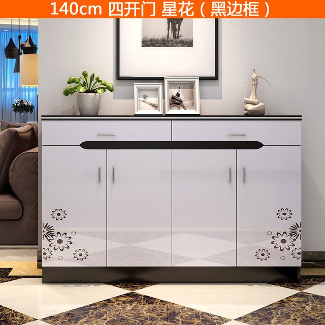 Simple Modern Shoe Rack Shoe Ark Household High Capacity Shoe Cabinet 140 *  32 *