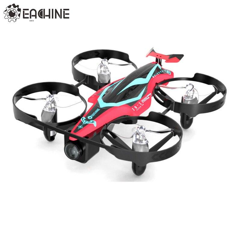 Original Eachine E013 Plus Micro FPV Racing Drone Anti-Turtle Mode w/ 5.8G 48CH 1000TVL Camera VR006 Goggles