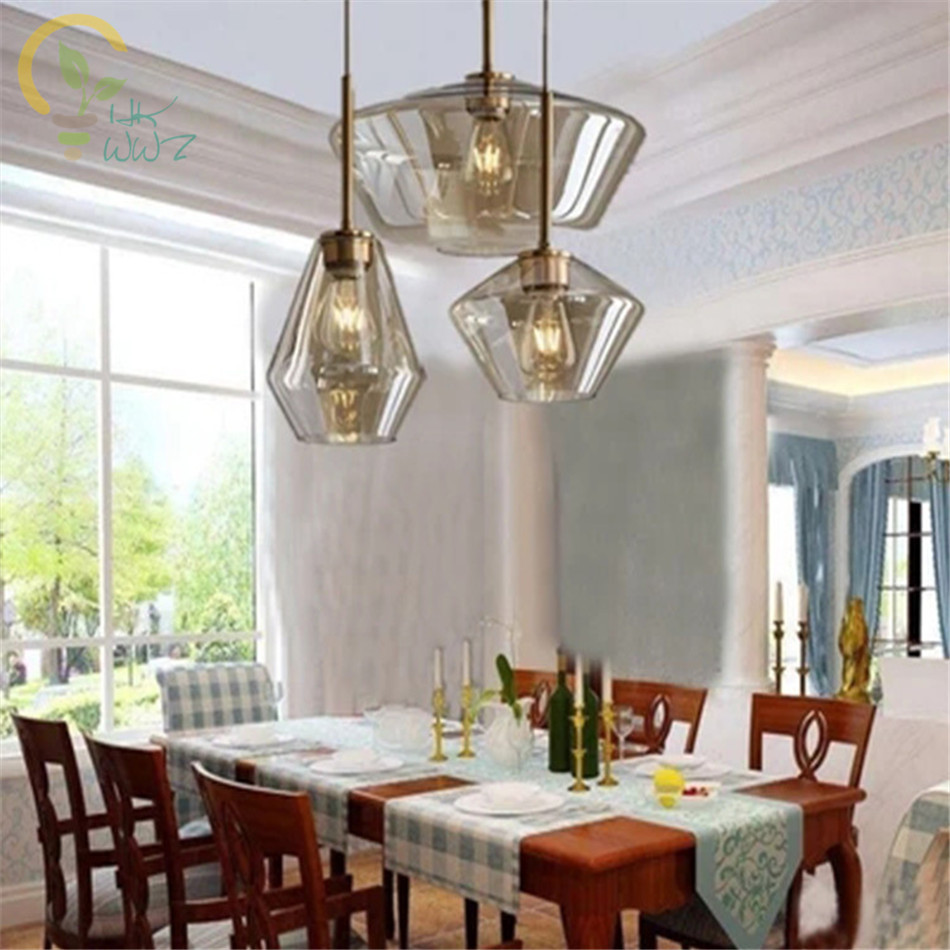 Post-Modern Glass Pendant Lights Nordic Pendant lamps for Bar Coffee Office Personality Hanglamp restaurant For Home LightingPost-Modern Glass Pendant Lights Nordic Pendant lamps for Bar Coffee Office Personality Hanglamp restaurant For Home Lighting