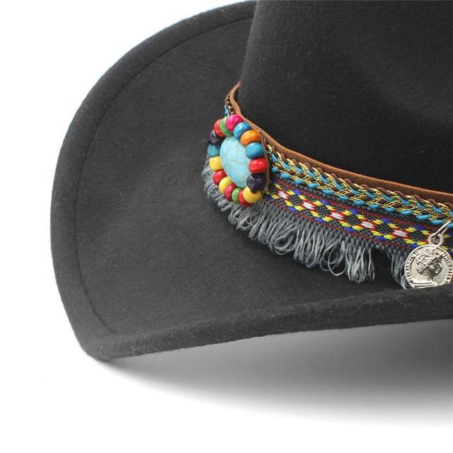 Child wool hollow western cowboy h