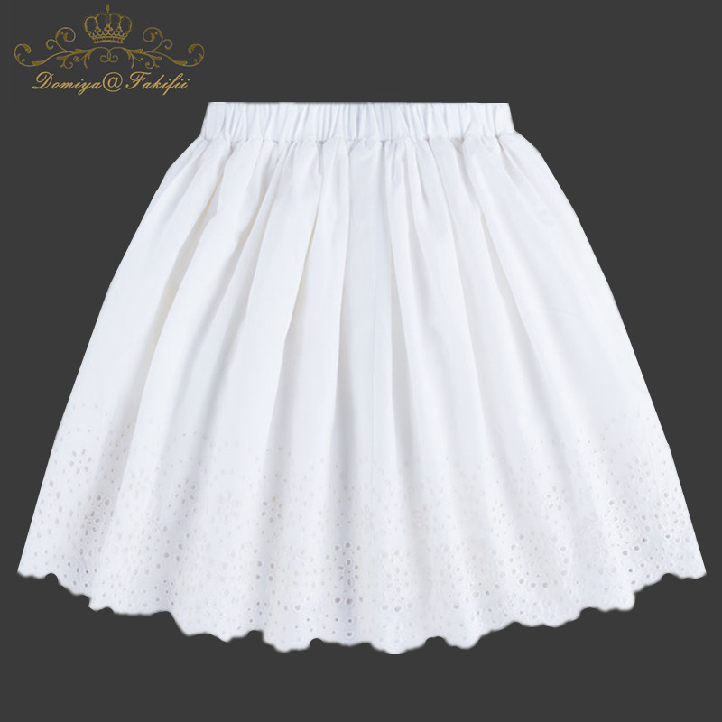 Baby Girl Princess Party Cotton Skirt Children Clothing Girls Casual Tutu Skirt Puff Skirt Summer Ball Gown Kids Costume Age 2-8 two pieces kid girl set tutu summer flower cotton t shirt tutu skirt sets children outfits dance party prom clothing