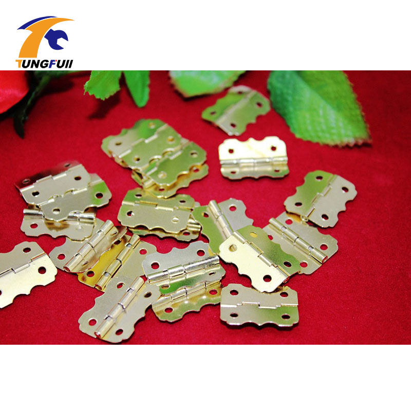 In Stock 40pcs 25*20mm Small hinge closing cabinet hinges butterfly hinge wooden wine box 90 degrees samkoon display and control hmi touch screen sk 035ae 3 5 color tft new