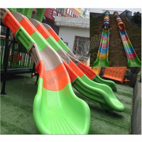 outdoor playground slide,plastic slide accessories,amusement tube slide customized made