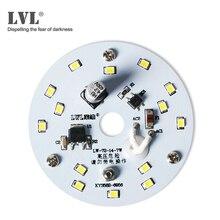 Светодиодный светильник 7 Вт, 220 В, круглый светодиодный модуль, потолочный светильник s светодиодный источник лампы, внутренний светильник ing светодиодный потолочный светильник