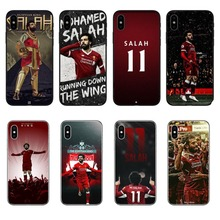 Egypt football player Mohamed Salah 11  For Phone Cases Cover For iPhone 5 5s SE 6 6S Plus 7 XR XS Max 8 8 Plus X 10 все цены