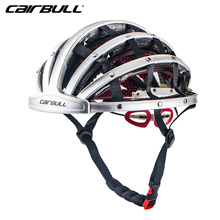 2017 Cairbull New Bicycle Folding Helmets 56-62cm Ultralight Women Men Cycling Helmets Road MTB Capacete Ciclismo Silver Rose