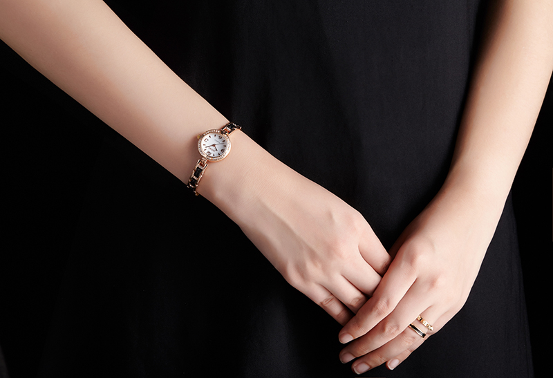 DOOBO luksusowa Moda damska zegarki zegarek kwarcowy bransoletka - Zegarki damskie - Zdjęcie 6