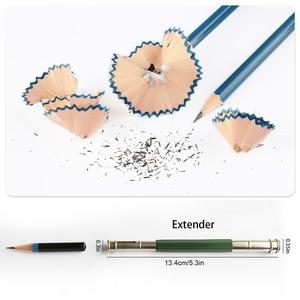Image 4 - 71pcs/set Professional Sketching Drawing Pencil Kit Art Painting Tool Student Black  for Sketching Drawing and Writing