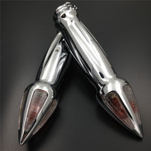 Aftermarket free shipping motorcycle parts Hand Grips Turn Signals for  Marauder Savage Volusia Intruder Boulevard CHROMED