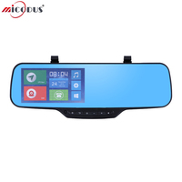 3G Smart Car Camera 1080P Wi Fi Android Dual Camera Clip Strap Bracket Rearview Mirror JC900 DVR With Bluetooth GPS Navigation