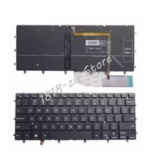 Retroiluminado EUA teclado do portátil para DELL Inspiron XPS 15 13 7000 7347 7348 7352 7353 7359 7547 7548 9343 9350 9360 N7548 P54G P57G