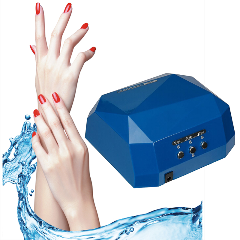 Suelina Nail Dryer&FREE SHIPPING Dryer Gel Rapid Drying Device Diamond Shaped Lamp CCFL Curing for UV Gel Polish Nail Art Sensor