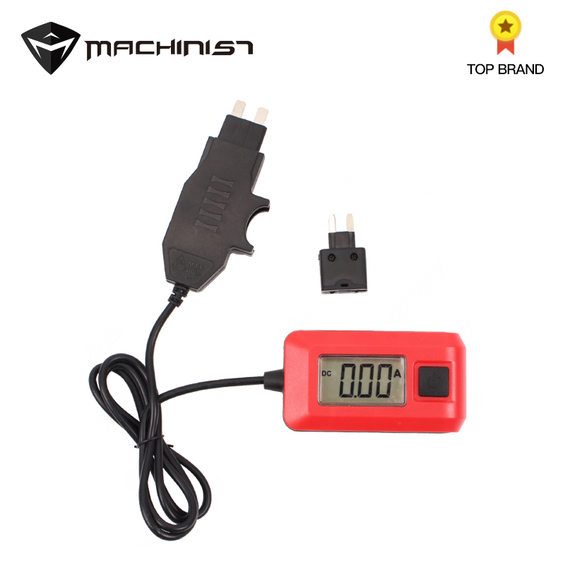 1pc Automotive Current Tester Detector Automotive Fuse Ammeter Automotive Leakage Tester Dark Current Detector