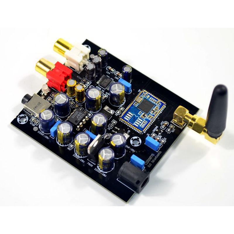 Image 5 - Csr8675 aptx hd bluetooth 5.0 receptor sem fio jrc5532 pcm5102a  i2s dac decodificação suporte lossless 24bit com antenaAmplificador