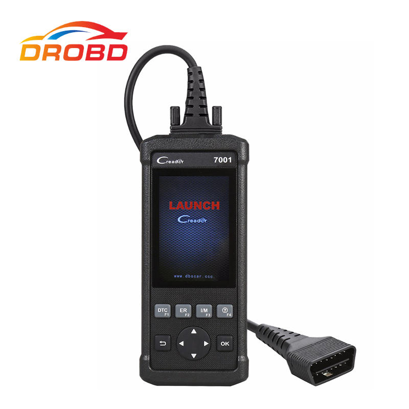 Original Launch DIY Code Reader CReader 7001F CR7001F Full OBD2 Scanner Scan Tool with Oil Resets