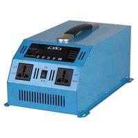 Портативный 2000 Вт автомобиля Мощность инвертор 12 В 24 В 110 до 220 Напряжение инверсор конвертер Multi Защиты Мощность инвертор 12 В до 220 В