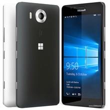 "100% Original Microsoft Lumia 950 ORIGINAL-HANDY-20MP Kamera NFC Quad-core 32 GB ROM 3 GB RAM handy LTE FDD 4G 5,2 ""2560×1440 pixel"