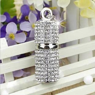 Jewelry Presentes Mini USB 3.0 Pen Drive 64GB Usb Flash Drive 1TB 2TB Pendrive 32GB 16GB 8GB Memory Stick Necklace Chain Gift