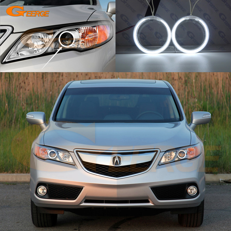 For ACURA RDX 2013 2014 2015 Headlight Excellent Angel