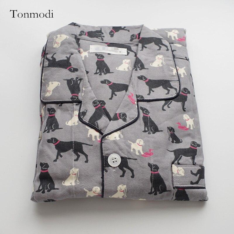 Men's Pajamas Spring And Autumn Long Sleeve Cotton Sanding Sleepwear Hound Pyjamas Men's Sleep Lounge Pajama Set Trousers