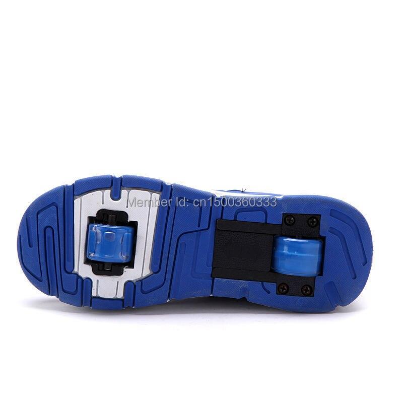 A enfants Retractable Roulettes Chaussures mNnO8wyv0