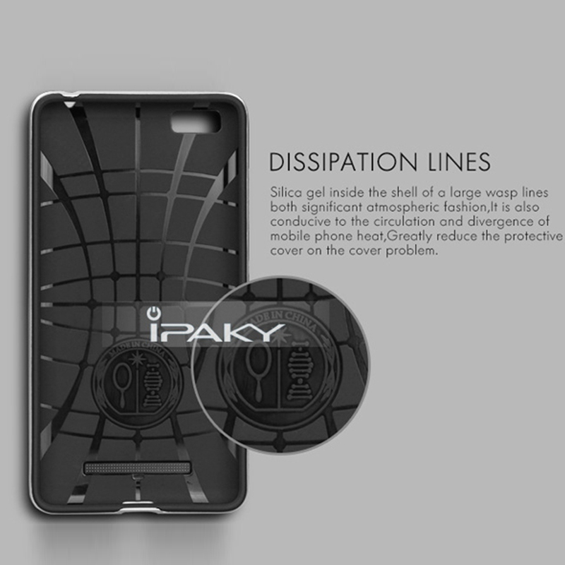 detailed look 71d03 b48d4 US $6.24 |For Xiaomi Mi4i Mi4C Case Original IPAKY Dual Hybrid PC Frame &  Silicon Back Cover Phone Case For Xiaomi Mi 4C Case Mi 4i Cases-in Fitted  ...