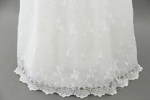 Image 4 - HAPPYPLUS fildişi prenses elbise bebek kız vaftiz elbiseler kat uzunluk uzun elbise için bebek duş vaftiz elbise bebek kız