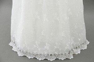 Image 4 - HAPPYPLUS ivoire robe de princesse bébé fille robes de baptême parole longueur longue robe pour bébé douche robe de baptême pour bébé filles