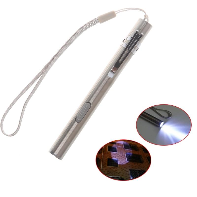 8000LM Pocket Tactical Flashlight Torch LED Pen XML T6 USB Rechargeable Light