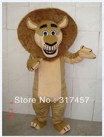 Hot sale Madagascar Lion Alex Mascot Costume Adult Character Costume Cosplay mascot costume