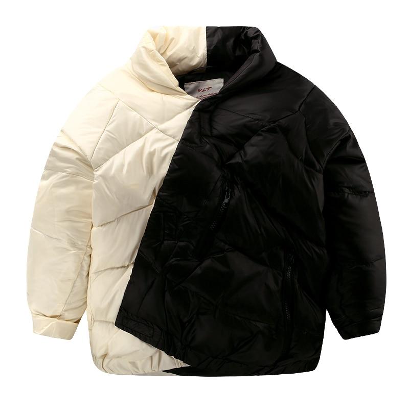 The boy down jacket cotton padded winter warm 2016 new kids children baby jacket U4504