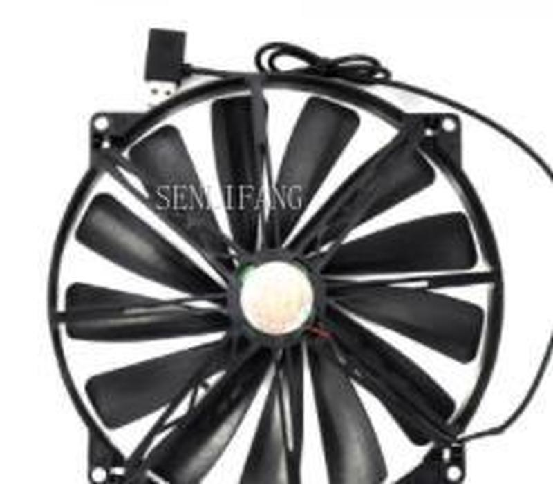 Free Shipping  Cooler Master A20020-07CA-2JN-F1 20cm Cooling Fan