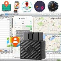 OBD II gps трекер автомобиль в режиме реального времени сигнализатор местонахождения на грузовую машину наблюдение система обнаружения сигнал...