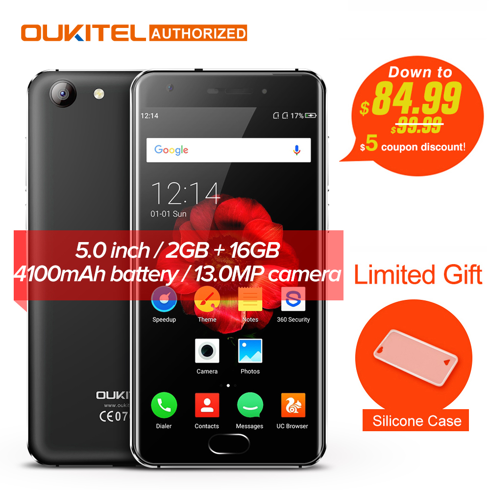 OUKITEL K4000 Plus 4G Mobile Phone Android 6.0 Touch