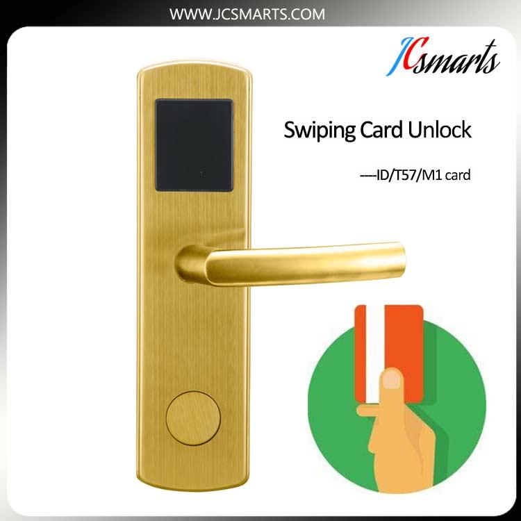 Hot selling digital key card door lock with IC/ID card reader hot selling rf smart card digital sauna cabinet lock