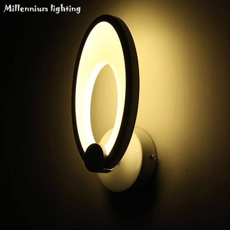 Modern Wall Lamp For Bedroom Bathroom Acrylic Wall Sconce LED AC90 260V  Living Room Indoor