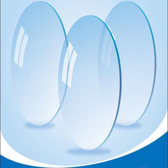 Lentes 1.61 índice claro lente ojos vidrios ópticos personalizar lentes de prescripción