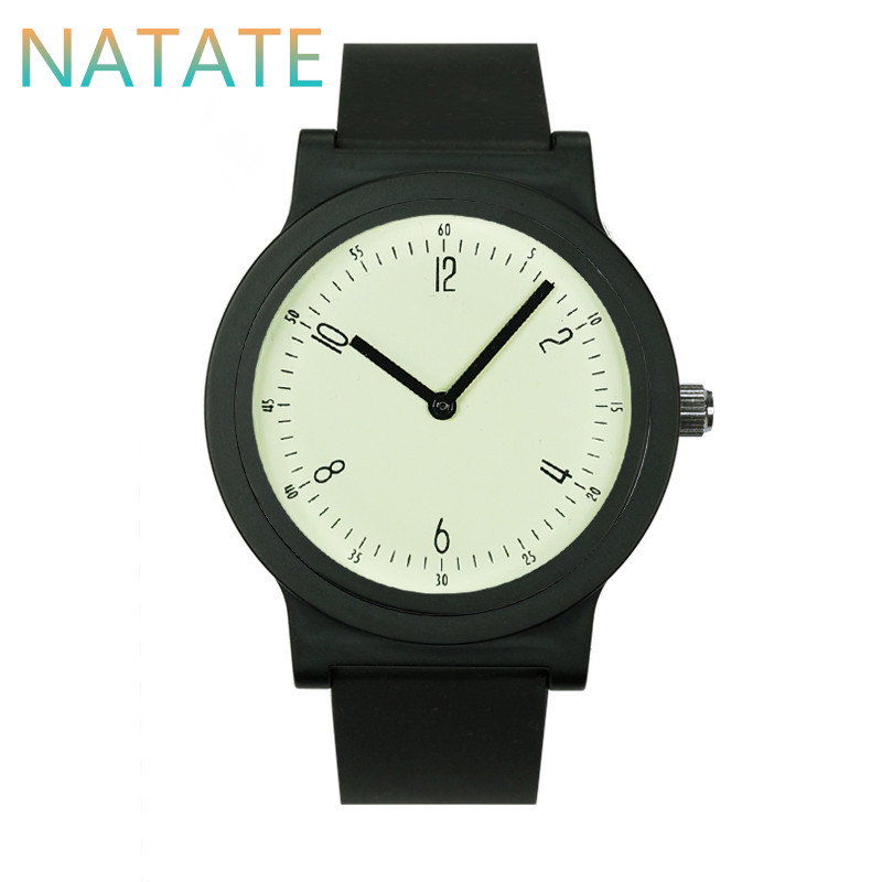 NATATE Woman Simple Back Light Quartz Waterproof Watch Fashion Women Trend Watches WILLIS Luxury Brands Sports Wristwatch 5855G2