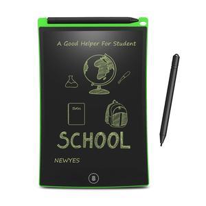 "Image 3 - NEWYES 12 ""สีเขียวเขียน Note Pad อิเล็กทรอนิกส์แท็บเล็ตกราฟิก e   Paper eWriter ของขวัญ Memo Snapchat สไตล์พร้อมกระเป๋า"