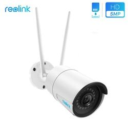 Reolink Surveillance Outdoor Camera WiFi 4MP/5MP 2.4G/5G HD IP Cam Wireless Weatherproof Security Cam RLC-410W