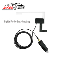 AuCAR DAB+ Radio Tuner USB DAB+ Digital Radio Receiver Antenna for Android Car Radio New Version
