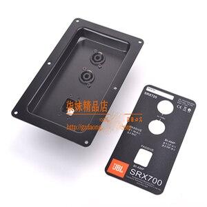 5pcs/lot JBL speaker wiring back panel professional stage speaker junction box dual 4-core ohm head send stickers(China)