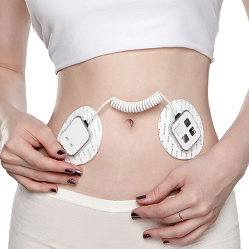 TOP BEAUTY Slimming Products EMS Slimming Pad Full Body Massage Arms Abdomen Hips Thigh Slimming Paster Body Shaper Patch electric beauty body slimming and lipoid fat massaging massager is powerful vibratory body and slimming machine