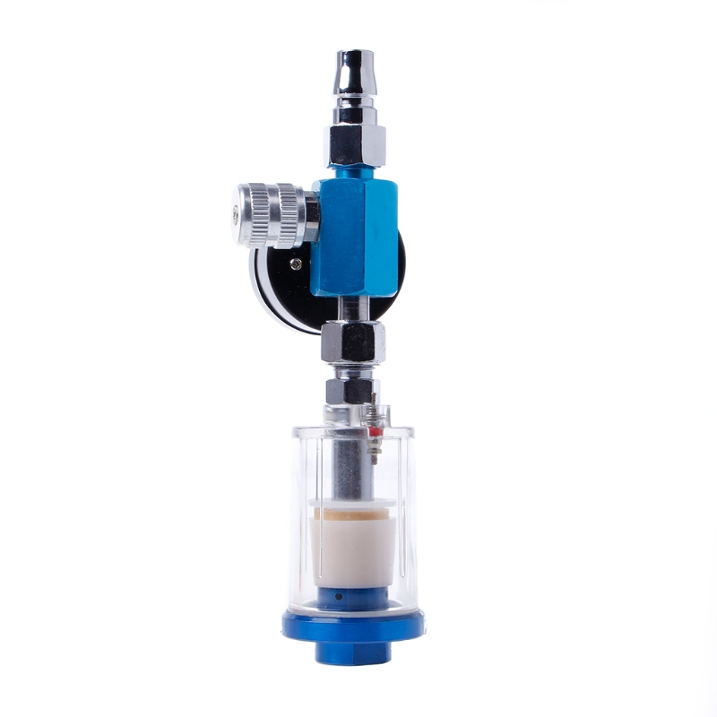 Flexible Spray Paint Part - 42: 1PC Flexible Adjustment And Light Weight Spray Paint Gun Air Regulator  Gauge U0026 In Line Air Oil Water Separator Filter Kit-in Coarse Crowbar From  Automobiles ...