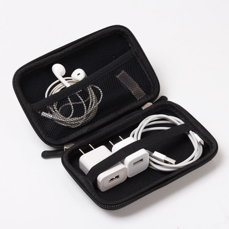 Travel Data Cable Digital Storage Package Electronic Accessories Digital Gadget Devices Power Bank Portable Headset Bag