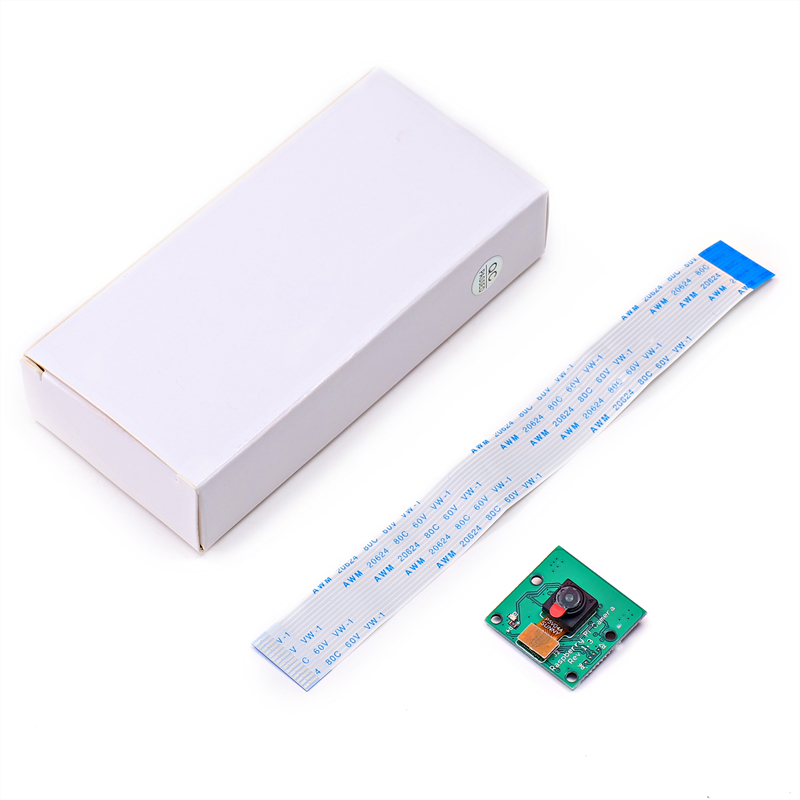 Raspberry Pi CSI Camera 500W Pixel Module 5MP Webcam Video 1080p 720p 15cm Flexible Cable