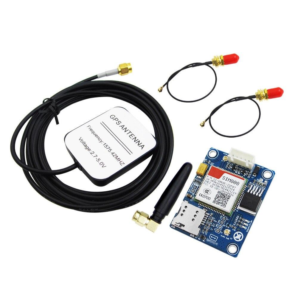100% neue SIM808 statt SIM908 modul GSM GPRS GPS Entwicklungsboard IPX SMA