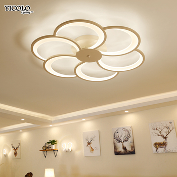 new  modern Art Acrylic LED Ceiling Lights Living Room bedroom ceiling lights bedroom Decorative lampshade Lamparas de techo